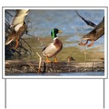 Mallard Flight Yard Sign