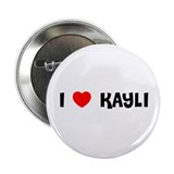 "I LOVE KAYLI 2.25"" Button (100 pack)"