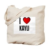 I LOVE KAYLI Tote Bag