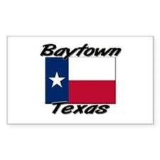 Baytown Texas Rectangle Decal