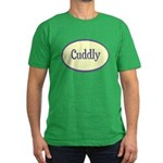 Cuddly Men's Fitted T-Shirt (dark)