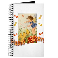 Musical Happy Easter Journal