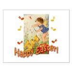 Musical Happy Easter Small Poster