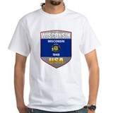 Wisconsin USA Crest Shirt