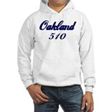 Oakland 510 area code Hoodie