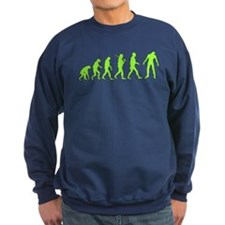 Funny Zombie Evolution Sweatshirt