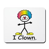 BusyBodies Clowning Mousepad