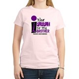 I Wear Purple For My Brother 9 PC T-Shirt