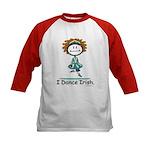BusyBodies Irish Dancing Kids Baseball Jersey