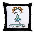 BusyBodies Irish Dancing Throw Pillow