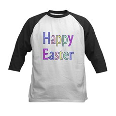 Happy Easter Kids Baseball Jersey