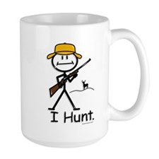 BusyBodies Deer Hunter (Rifle) Ceramic Mugs