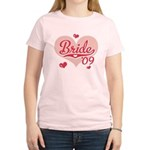 Sporty Heart Pink Bride 09 Women's T-Shirt