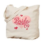 Sporty Heart Pink Bride 09 Tote Bag