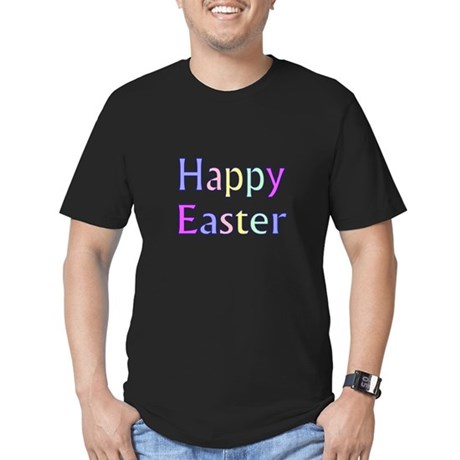 Pastel Easter Men's Fitted T-Shirt (dark)