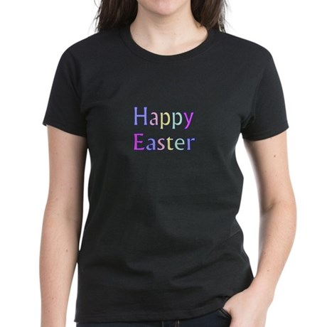 Pastel Easter Women's Dark T-Shirt