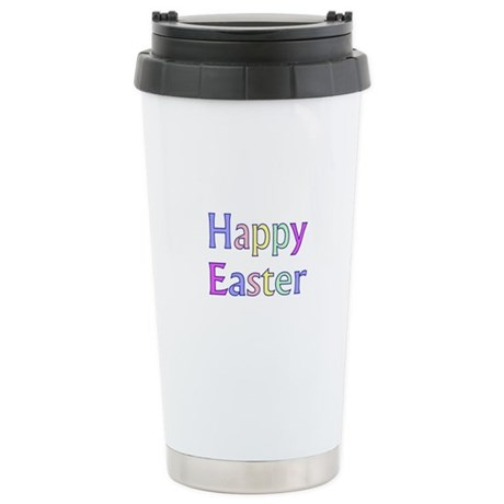 Pastel Easter Ceramic Travel Mug