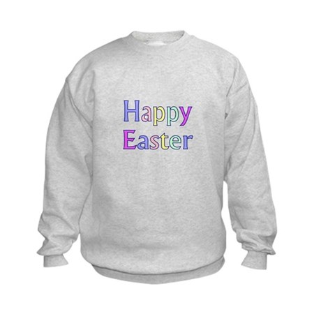 Pastel Easter Kids Sweatshirt