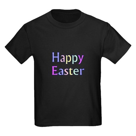Pastel Easter Kids Dark T-Shirt