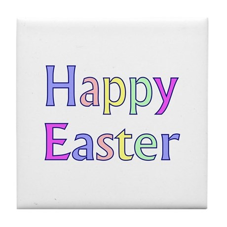 Pastel Easter Tile Coaster
