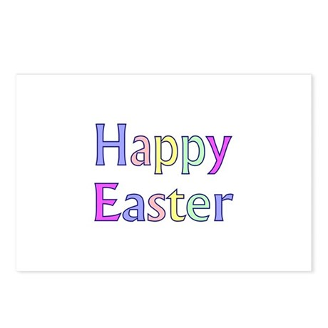 Pastel Easter Postcards (Package of 8)