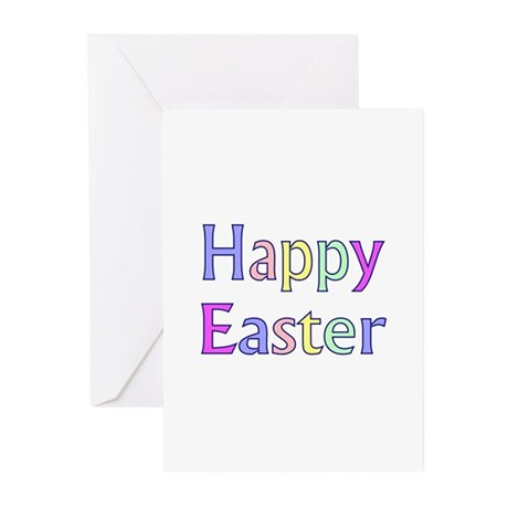 Pastel Easter Greeting Cards (Pk of 10)