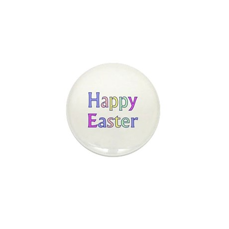 Pastel Easter Mini Button