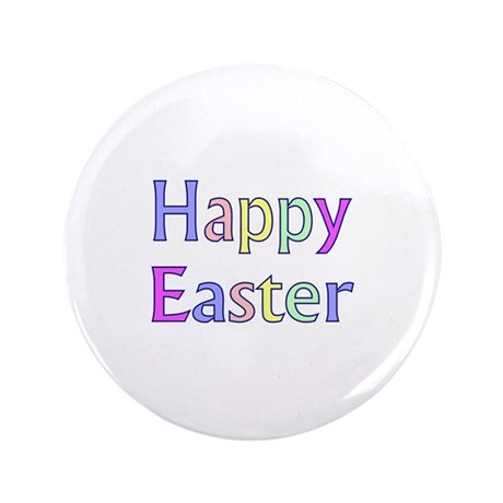 "Pastel Easter 3.5"" Button"