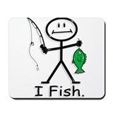 BusyBodies Fishing Mousepad