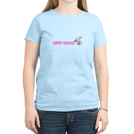 Paint Easter Bunny Women's Light T-Shirt