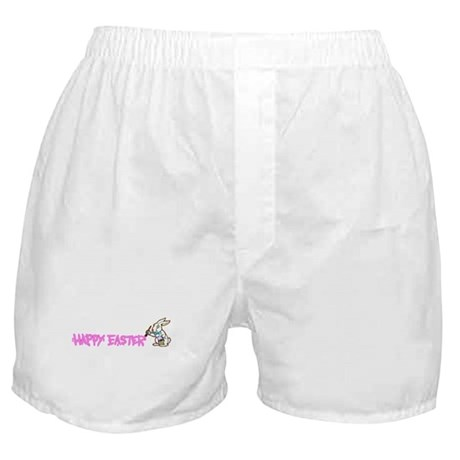 Paint Easter Bunny Boxer Shorts