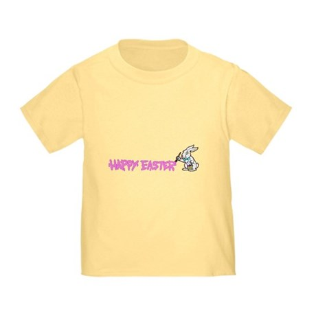 Paint Easter Bunny Toddler T-Shirt