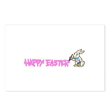 Paint Easter Bunny Postcards (Package of 8)