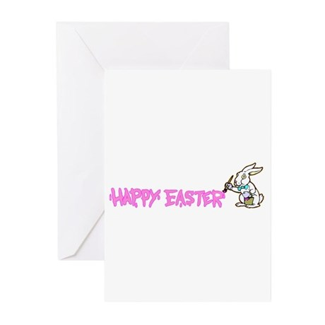 Paint Easter Bunny Greeting Cards (Pk of 20)