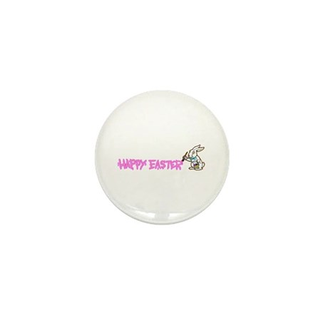 Paint Easter Bunny Mini Button (100 pack)