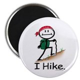 BusyBodies Hiking Magnet