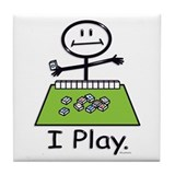 Mahjong Stick Figure Tile Coaster