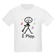 Clarinet Kids T-Shirt