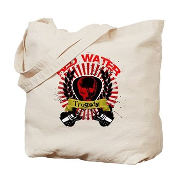 Red Water Tragedy Tote Bag