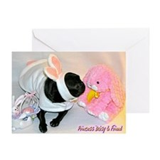Kissing Bunny Greeting Cards (Pk of 10)