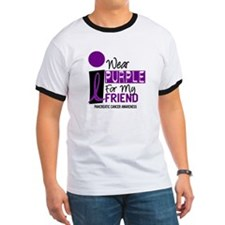 I Wear Purple For My Friend 9 PC T