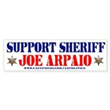 SUPPORT SHERIFF JOE ARPAIO! Bumper Sticker (10 pk)