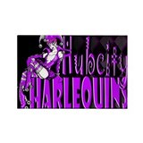 HubCity Harlequins Rectangle Magnet (100 pack)