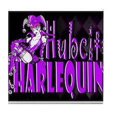 HubCity Harlequins Tile Coaster