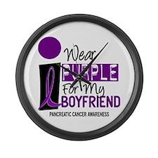 I Wear Purple For My Boy Friend 9 PC Large Wall Cl