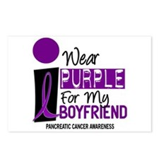 I Wear Purple For My Boy Friend 9 PC Postcards (Pa
