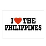 I Love the Philippines Postcards (Package of 8)