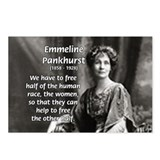 Suffragist Emmeline Pankhurst Postcards (Package o