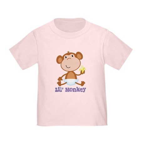 Lil' Monkey Smile Toddler T-Shirt