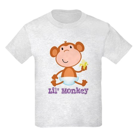 Lil' Monkey Smile Kids Light T-Shirt
